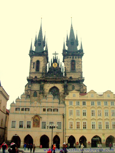 Old Town Square and Tyn Church